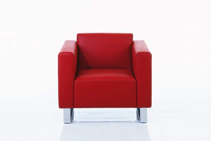 brühl Sessel rot serge