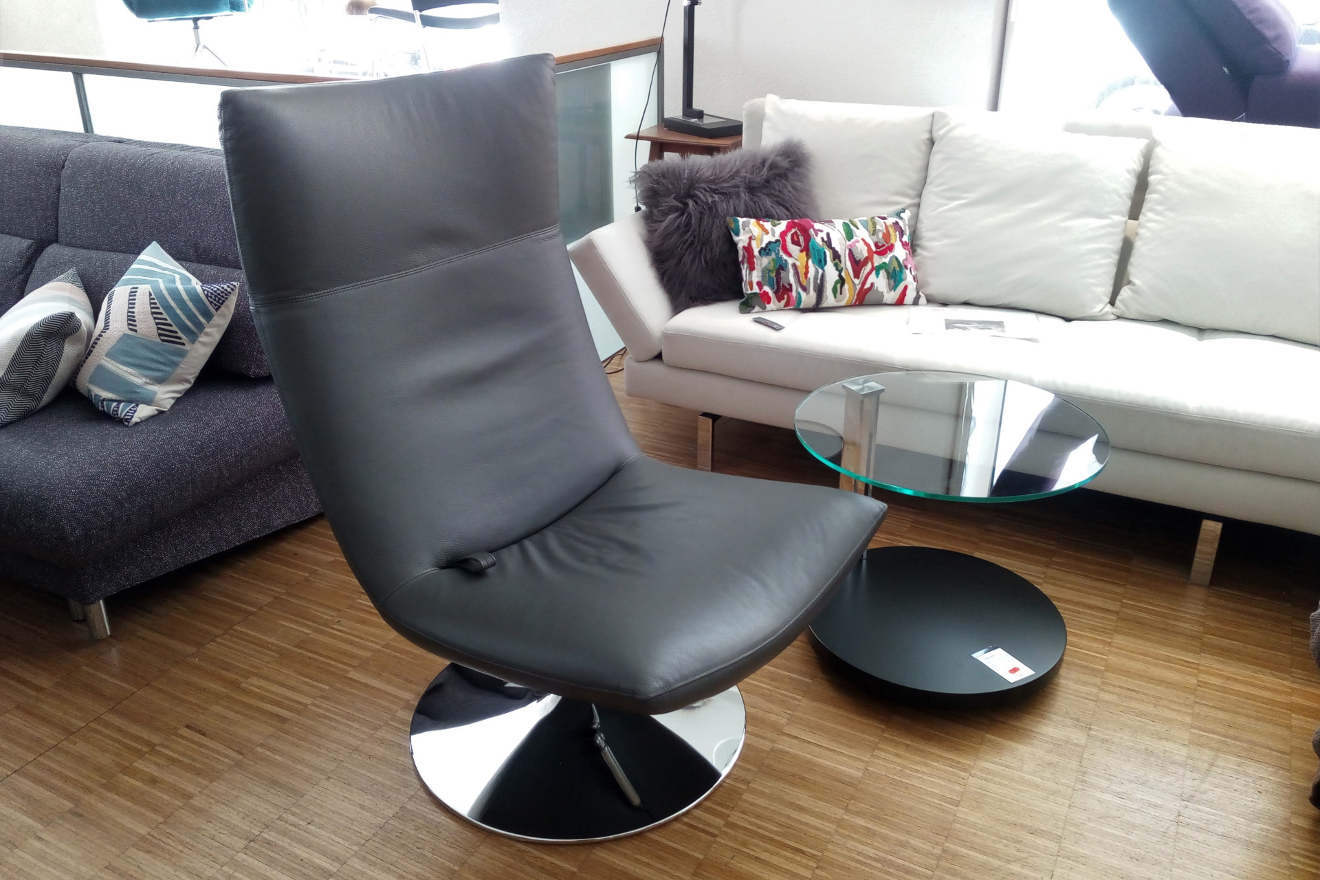 Ausstellungs-Angebot brühl gerard Sessel Leder