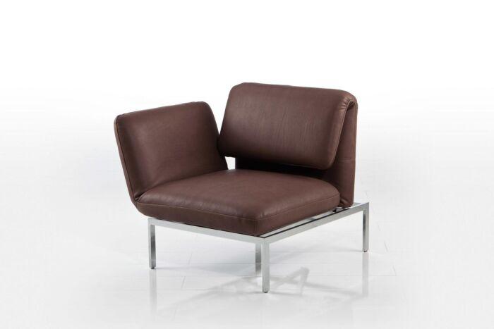 brühl Einsitzer Sessel Leder roro