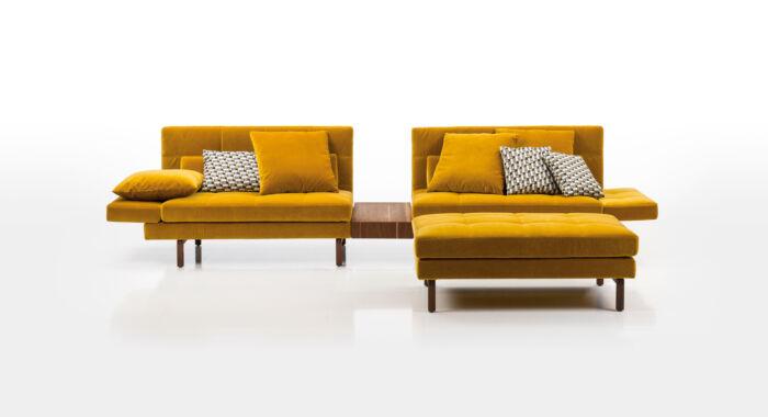 brühl Funktionssofas Eckgruppen Tischelement amber