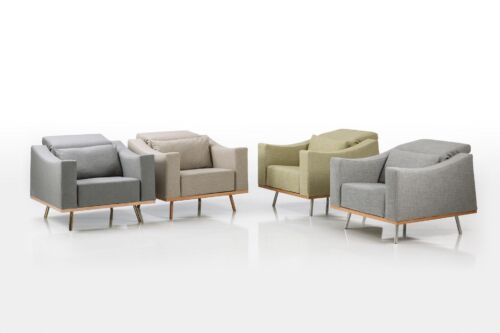 brühl Sessel Relax Stoff amber