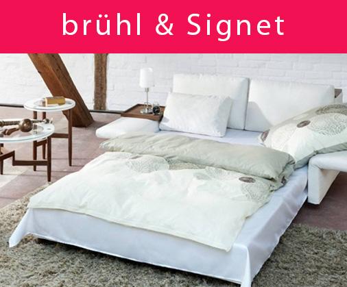 Schlafsofas von brühl und Signet