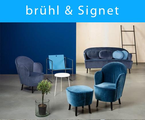Sessel von brühl und Signet