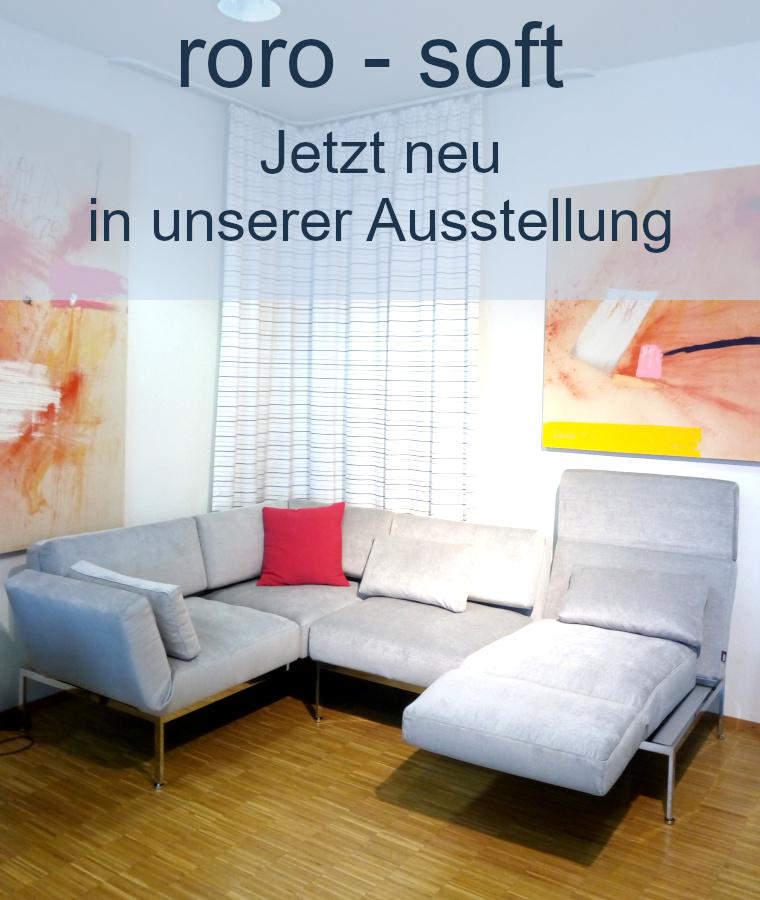 brühl roro soft Eckgruppen Relax Ausstellung neu