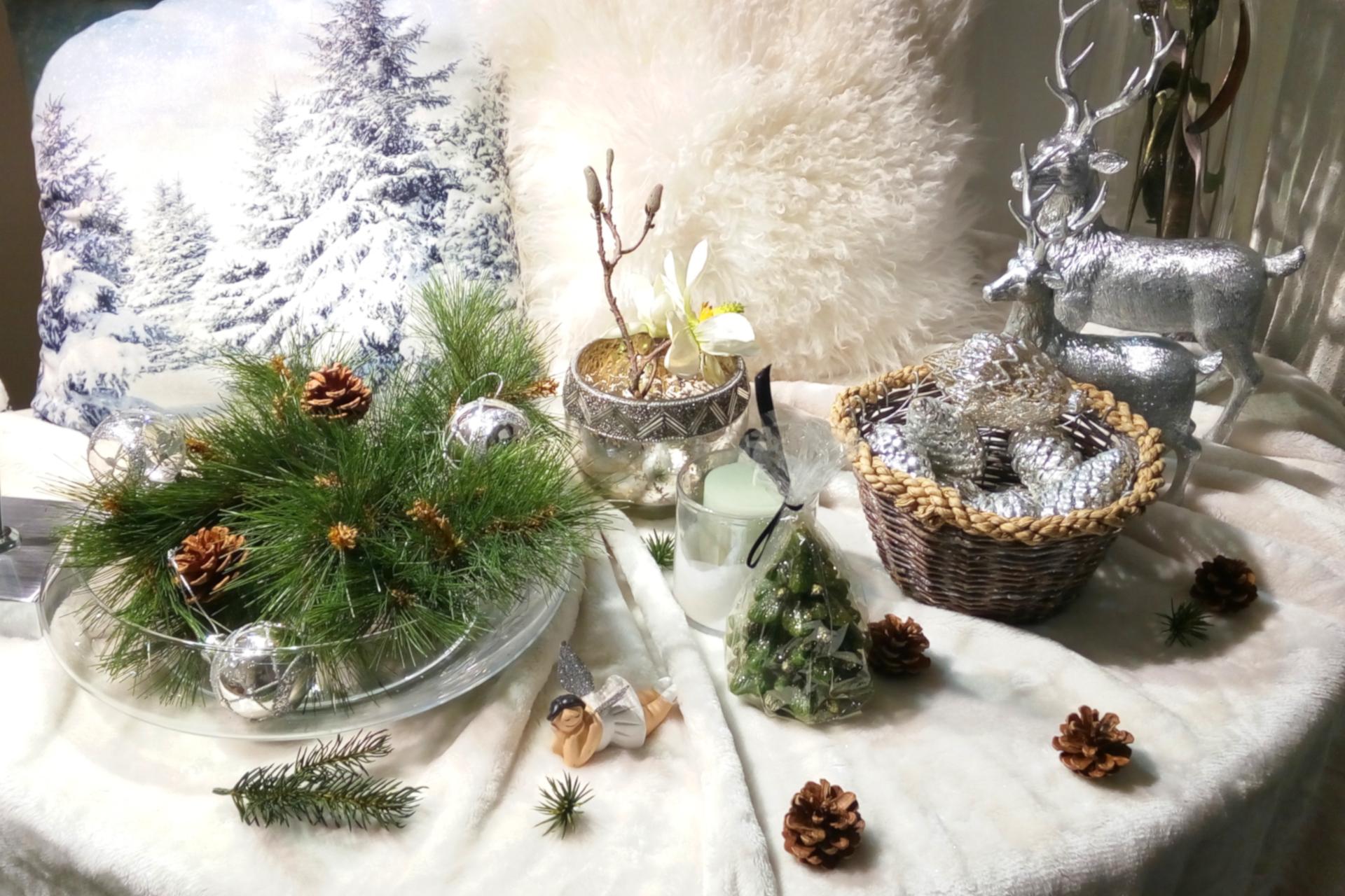 Dekoration Geschenke Weihnachten Home Kissen Hirsche