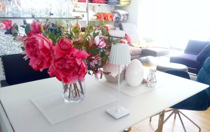Dekoration Geschenkartikel Seidenblumen Vasen Glas Keramik Home Accessoires Lampe Beleuchtung