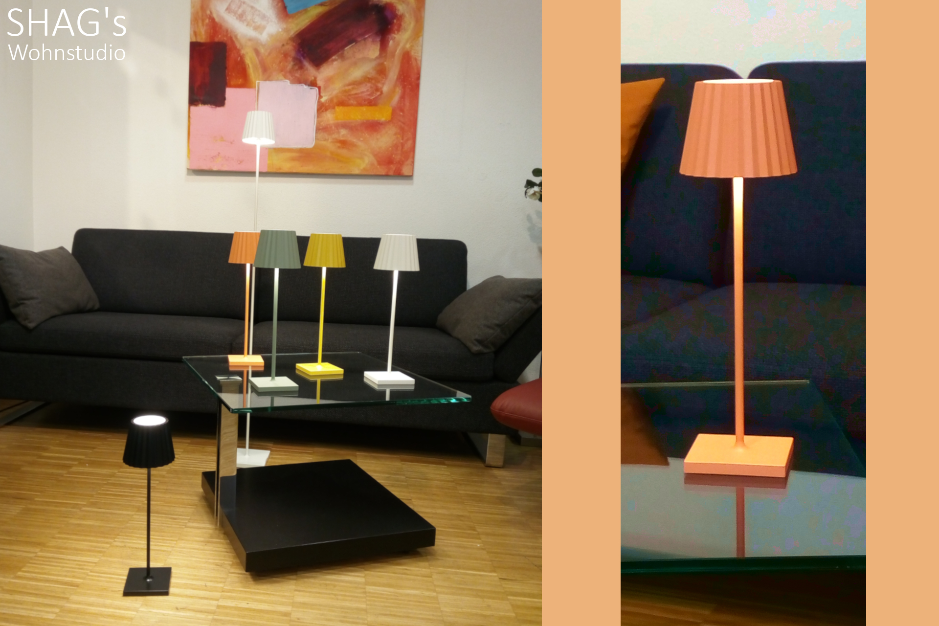 SHAGs Wohnstudio Funktionssofas Schlafcouchen Eckgruppen Sessel Living Interior Lampen LED Leuchten Beleuchtung