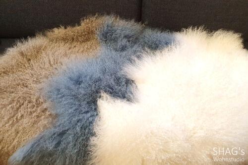 SHAGs Wohnstudio München Decken Wohnen Geschenkartikel ClickandCollect CallandCollect Felle curly beige blau weiß