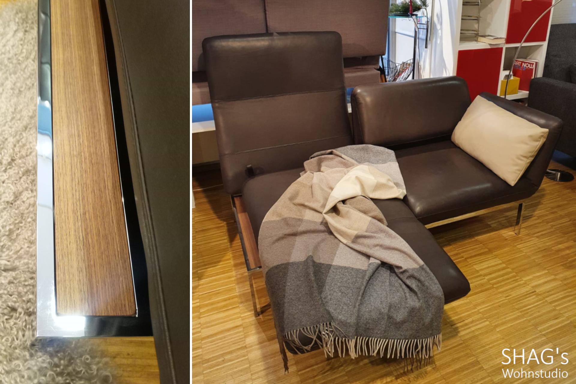 SHAGs Wohnstudio München brühl Funktionssofas Schlafen Relaxen Leder roro medium
