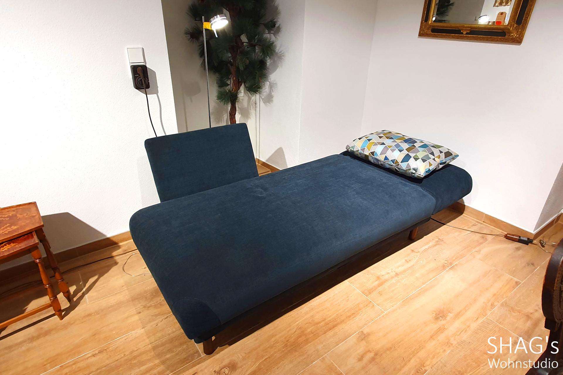 SHAGs Wohnstudio München brühl tam Recamiere Ausstellungs-Angebote Daybed abklappbare Seitenlehne Rückenlehne Schlafen Relax